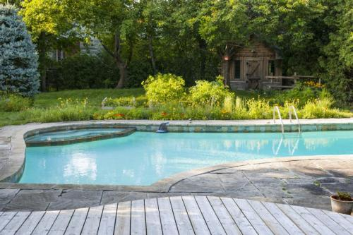 To us, a pool should be a complementary feature to the rest of its surroundings, similar to the mortgage services received when buying a home