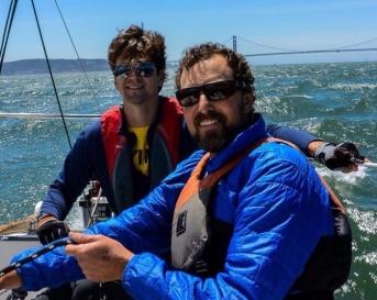 Matt and Spencer